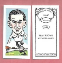 Stockport County Billy Brown 23 (FC)